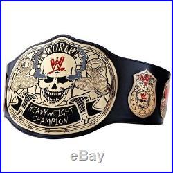 WWE Stone Cold Steve Austin Smoking Skull Replica Championship Title Belt