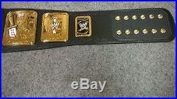 WWE TITLE BELT Attitude Era Championship Replica Title
