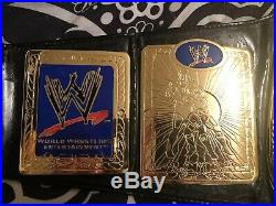 WWE Tag Team Championship Belt Replica (2002-2010) With Ric Flair Nameplate