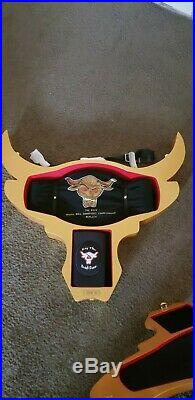 WWE The Rock Brahma Bull Deluxe Collector's Championship Belt #38/100