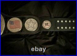 WWE US Championship Spinner Wrestling Belt Replica