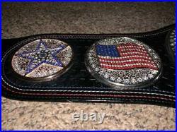 WWE US Spinner Wrestling Belt Championship Belt Replica