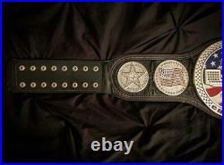 WWE US Spinner Wrestling Championship Belt Replica. Adult Size