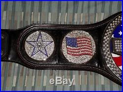 WWE US United States Spinner Championship Title Belt Adult