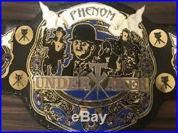 WWE Undertaker Championship Belt Leather Adult Size A Grade Quality Metal Plates