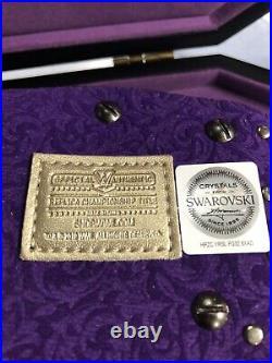 WWE Undertaker Legacy Mini Championship Belt Authentic WWE Shop WWF Wrestling