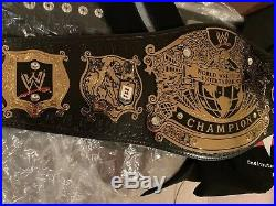 WWE Undertaker Signed Undisputed Championship Title Belt