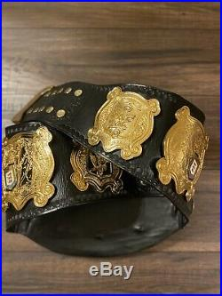 WWE Undisputed Championship Belt. Real Leather Version 2