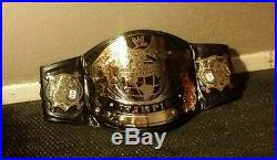 WWE Undisputed Championship Replica Belt Adult/Metal WCW NWA ECW Version 2