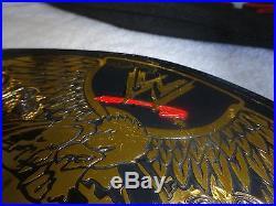 WWE Undisputed Championship Replica Belt Adult/Metal WWF NWA WCW ECW Brock Rock
