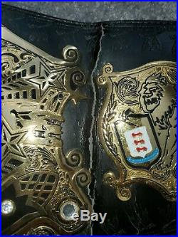 WWE Undisputed Championship Replica Title Belt
