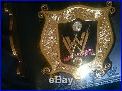 WWE Undisputed Championship Title Belt SIGNED by various wrestlers