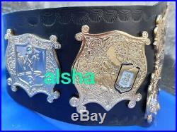 WWE Undisputed Championship Wrestling Belt Adult Zinc Plates 4mm Deep Etching