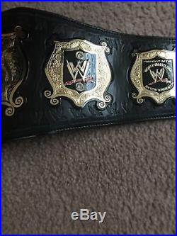 WWE Undisputed World Heavyweight Championship Belt Metal Adult Replica WWF WCW