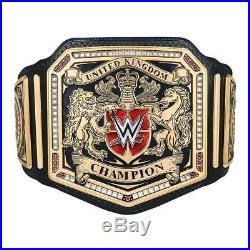 WWE United Kingdom Championship Replica Belt Metal Plates Adult Size