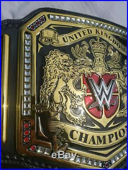 WWE United Kingdom Heavyweight Championship Replica Title Belt Wwf Wcw Aew Wrest