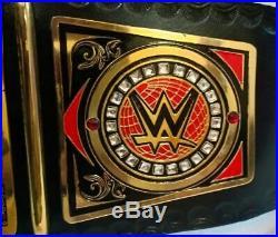 WWE United Kingdom UK Wrestling Championship Title Leather Belt