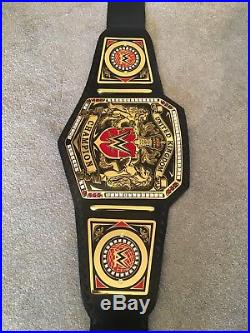 WWE United Kingdom championship replica adult Size Belt With Carry Case