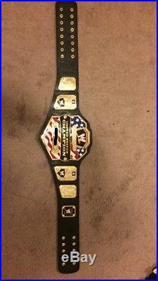 WWE United States Championship Belt! 100% Authentic Metal Plates 2mm