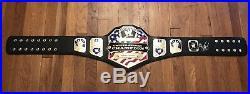 WWE United States Championship Belt Replica- Sasha Banks Signed Eddie Guerrero