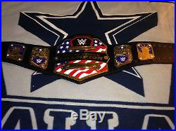 WWE United States Championship Replica Title Belt (2014) withbelt bag