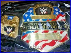 WWE United States Championship Wrestling Belt Adult Size