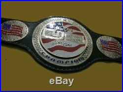 WWE United States Jhon Cena SPINNER Championship Belt Brass Plate Real Leather