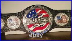 WWE United States John Cena Spinner Brass Plated Championship Belt 2005 Replica