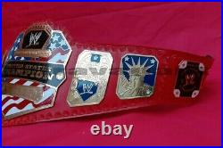WWE United States Wrestling Championship Belt. Adult Size 2mm Brass Plate