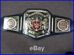 WWE United kingdom Championship Wrestling Replica Title Belt Adult Siz