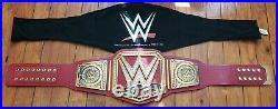 WWE Universal Championship Adult Replica Belt NOT A BOOT Red