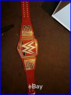 WWE Universal Championship Belt Adult Replica Official