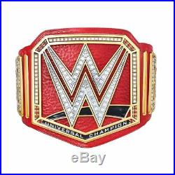 WWE Universal Championship Belt Adult Size Gold Plated