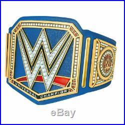 WWE Universal Championship Belt // Blue // Real Leather // Replica