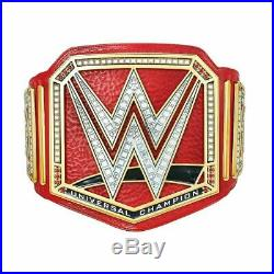 WWE Universal Championship Belt Real Leather Adult Size (Replica)