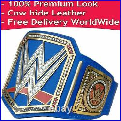 WWE Universal Championship Blue Replica Title Belt Leather