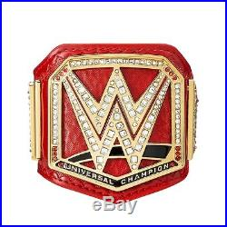 WWE Universal Championship Professional Mini Replica Title Belt, Red (NEW) U. S