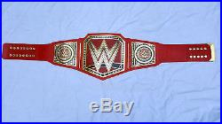 WWE Universal Championship Replica Title Belt Adult Size with Free Bag