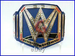 WWE Universal Championship Replica Title Belt Leather Brass Plates 2mm