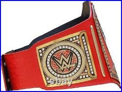 WWE Universal Championship Replica Title Belt Red Leather Zinc / Brass 2mm / 4mm