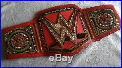 WWE Universal Championship Wrestling Title Belt Adult Size