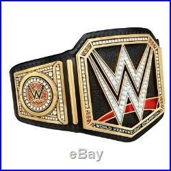 WWE Universal Championship Wrestling Title Replica Adult Belt 2mm WWF Black Belt