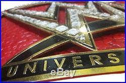 WWE Universal Wrestling Championship Replica Belt Leather Belt 51 Length New