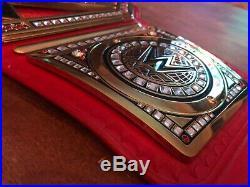 WWE Universal championship wrestling belt REAL LEATHER