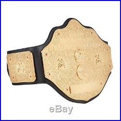 Wwe Wcw Heavyweight Championship Adult Size Metal Replica Belt With Case