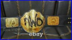 WWE WCW NWO World Big Gold Championship Wrestling Title Replica Belt Adult Size
