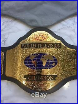 WWE WCW Television Championship Replica Belt