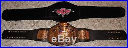 WWE WCW UNITED STATES CHAMPIONSHIP Deluxe Adult REPLICA BELT leather + bag RARE