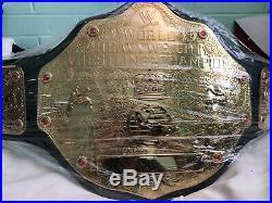 WWE WCW WORLD HEAVYWEIGHT CHAMPIONSHIP BIG GOLD BELT REPLICA Adult 2013 Version