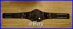 WWE WCW WWF Tag Team Championship Full Scale Leather Belt Adult 52'' 2001 53517
